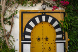 puerta musulmanas en Túnez