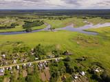 View on villages of Vladimir region