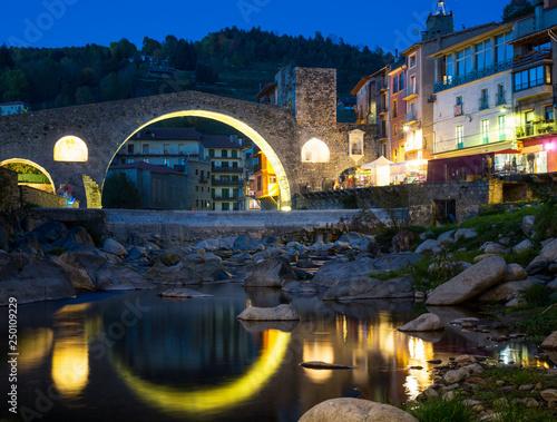 Camprodon in Pyrenees © JackF