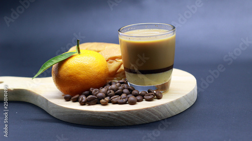 bread, oranges, espresso, coffee beans, photoshoot © frandi