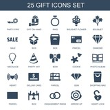 25 gift icons