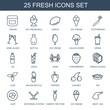25 fresh icons