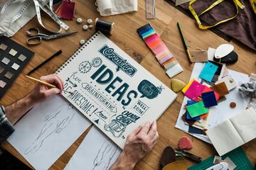 Inspiration Ideas Design Creative Thinking Word © Rawpixel.com
