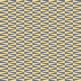 Geometric vector pattern with grey and golden triangles. Geometric modern ornament. Seamless abstract background - 250171620
