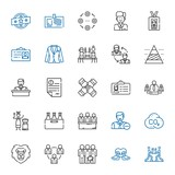 company icons set - 250180495
