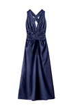 Blue gown isolated