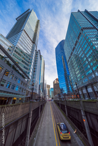 low angle view of skyscrapers © kalafoto