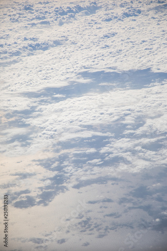 Cloudscape from above - 250193283