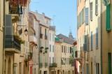 Stradina provenzale, Costa azzurra, Italia