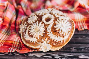 Healthy homemade baked bread