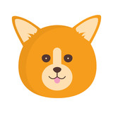 Cute dog character
