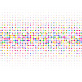 The colored dots on white background . - 250226097