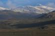 Leinwanddruck Bild - Mountain near Sisimiut, Greenland