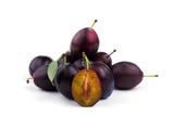 plum close-up. sweet plum
