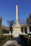Monument to Fallen Heroes in City of Madrid, Spain