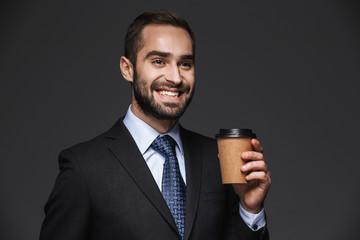 Portrait of a confident handsome businessman