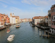 Venice in Italy and the Main waterway called Canal Grande