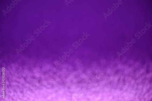 Purple glitter lights background. Defocused - 250285212