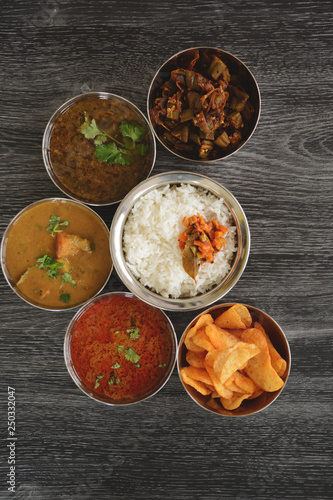Indian meal - 250332047
