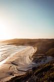 Australian cliffs at sunset