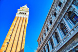 Landmark Saint Marco Square in Venice