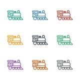 locomotive icon white background