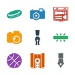 9 detail icons