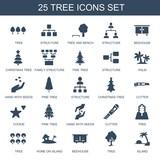 25 tree icons