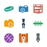 9 detail icons - 250357283