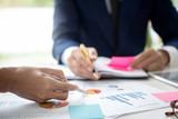 Meeting Corporate success brainstorming teamwork concept Business concept