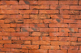 Red brick vintage background