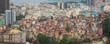 Quadro Rio de Janeiro downtown and favela