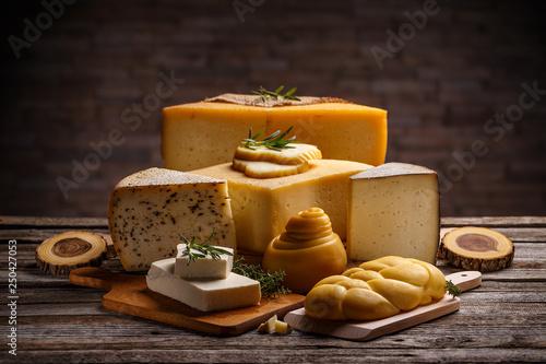 Set of various cheeses - 250427053