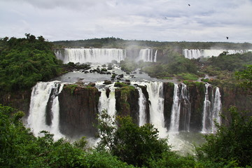 Iguazu Argentina Brazil South America Waterfall