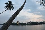 Coucher de soleil au Kerala, Inde du Sud