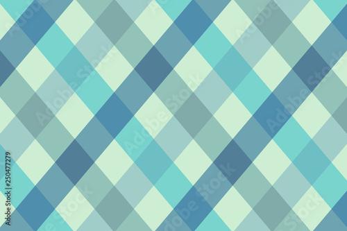 Blue Argyle Tone Icon Texture Art Background Pattern Design Graphic - 250477279