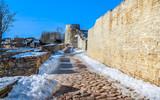 The Izborsk Fortress. Izborsk, Pskov Region, Russia. - 250504837