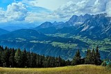 Austrian Alps-view of the Dachstein from Planai