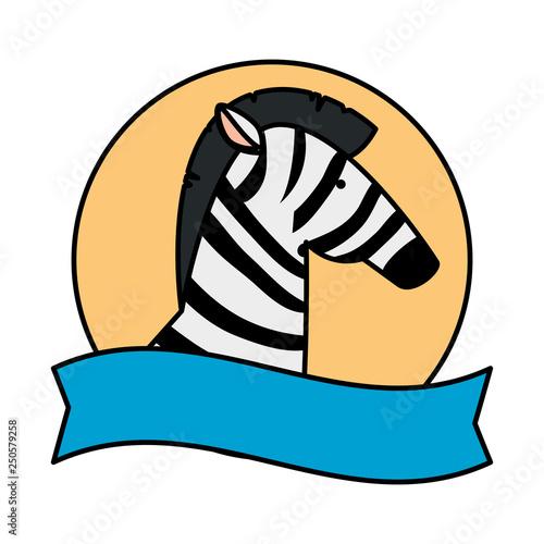 african zebra wild character