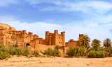 Amazing view of Kasbah Ait Ben Haddou near Ouarzazate in the Atlas Mountains of Morocco. UNESCO World Heritage Site - 250606611