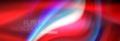Fluid colors mixing glowing neon wave background, holographic texture