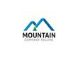 mountain modern logo concept - 250656007