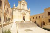Cathedral of Assumption in the citadel of Victoria (Rabat), Gozo island, Malta - 250673480