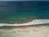 Blue sea water seascape