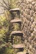 stone steps wall