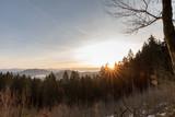 Fototapeta Na ścianę - Sonnenaufgang im Land der tausend Berge © scaleworker