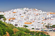 Leinwandbild Motiv The white walled town of Vejer de La Frontera, Cadiz, Spain.