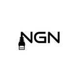 NGN icon or logo, Next Generation Network