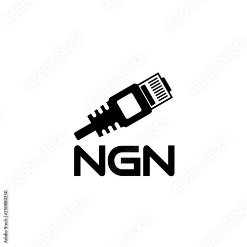 NGN icon or logo, Next Generation Network - 250880250