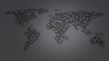 world map data
